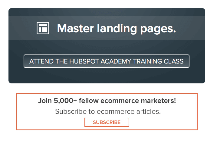Master Landing Pages