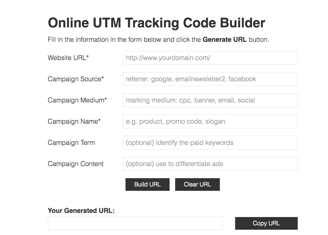 The Dummies\' Guide To UTM Tracking For Google Analytics