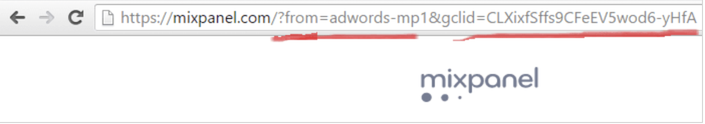 example of custom tagging for Google Ads