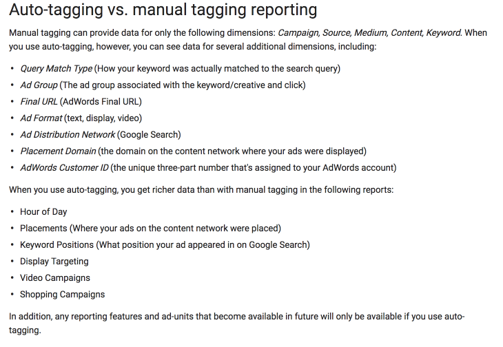 Auto-tagging and Manual Tagging