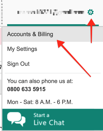 Bing Accounts and Billing