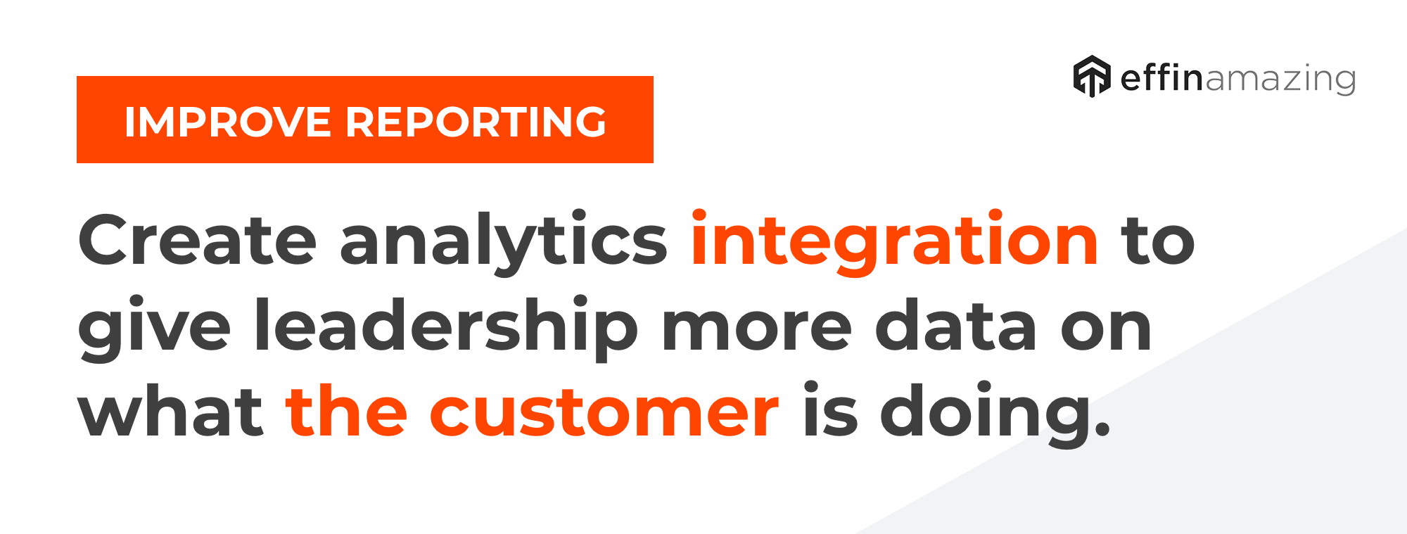 Improve Reporting Analytics Tips