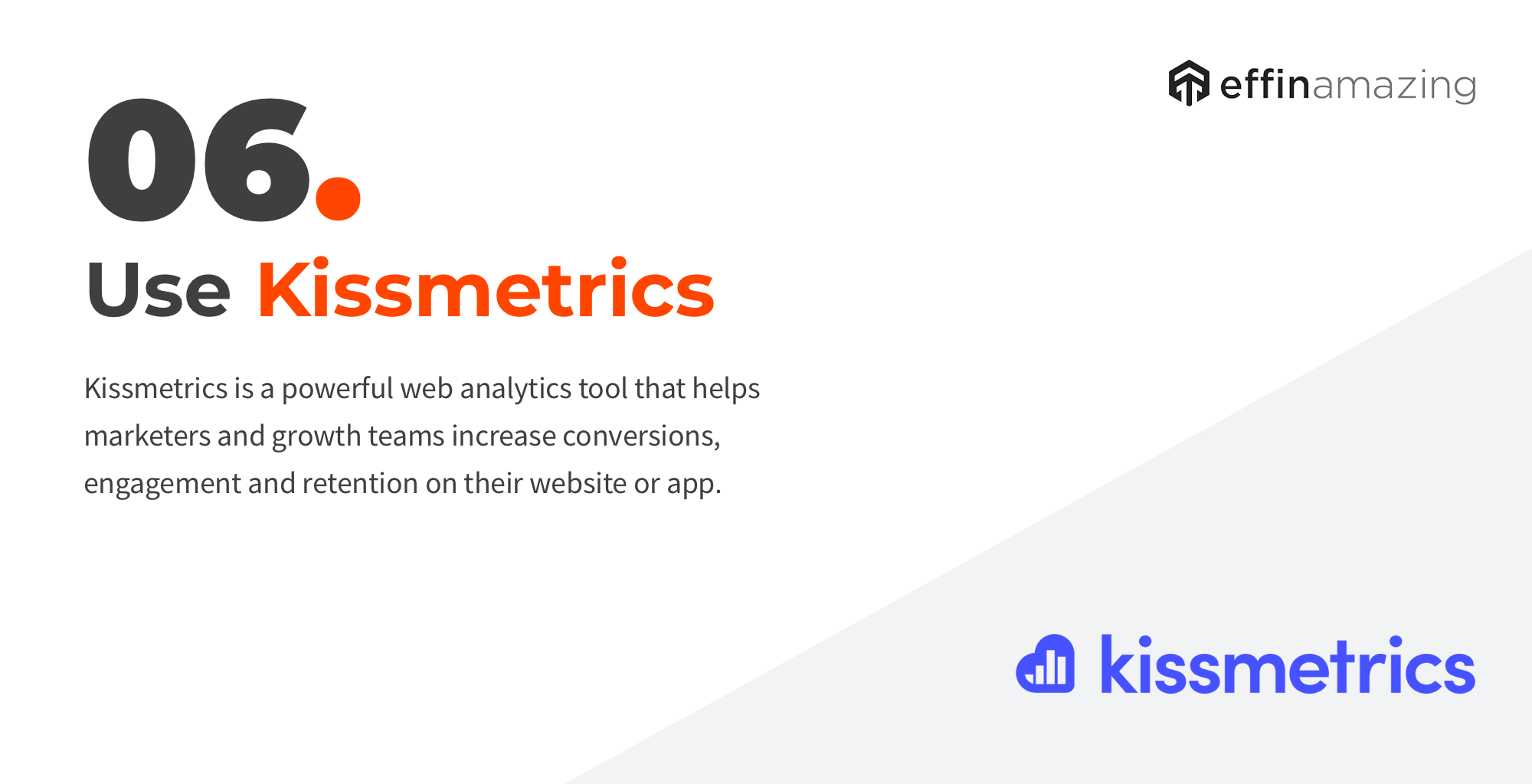 Kissmetrics website analytics