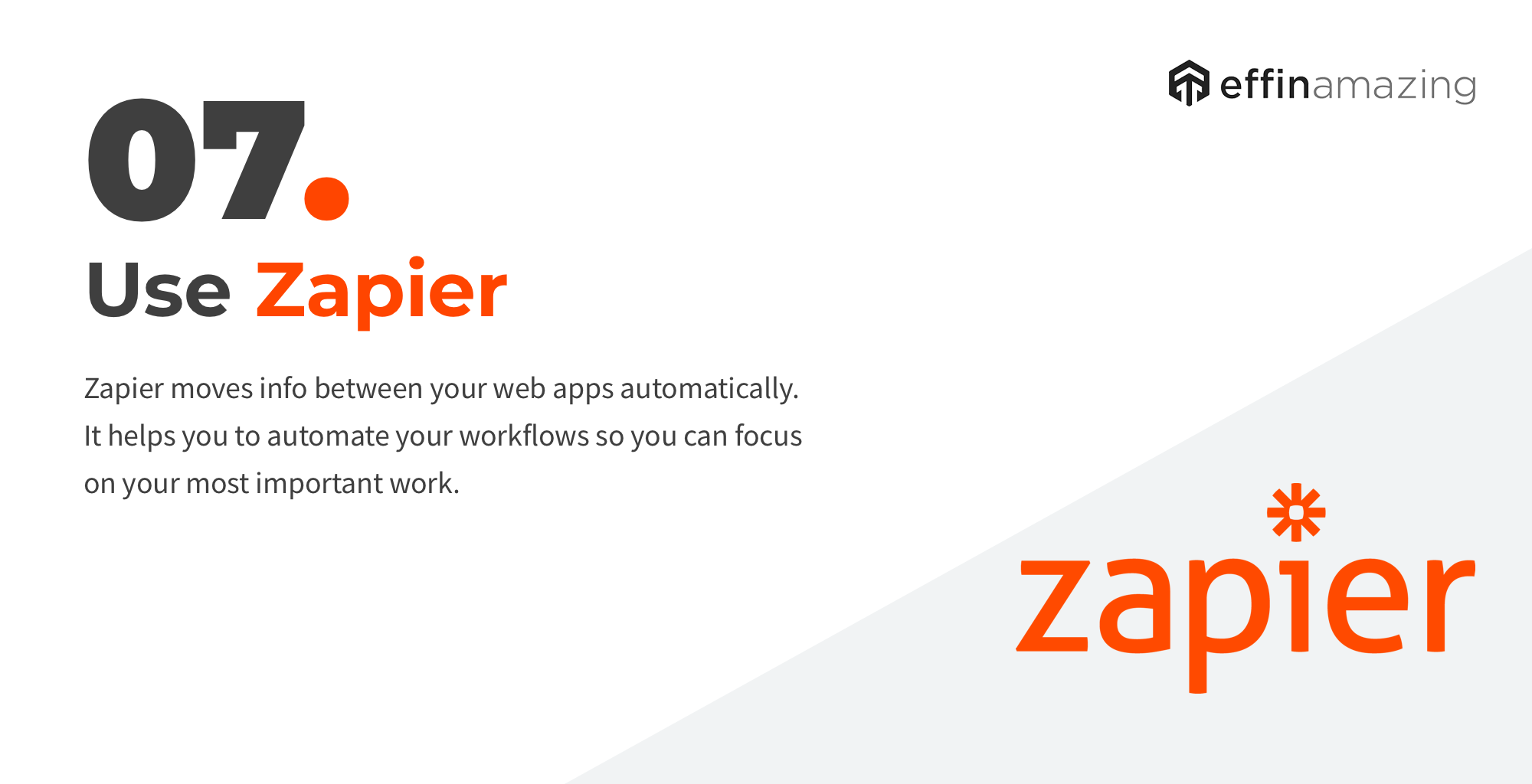 Zapier automate workflows