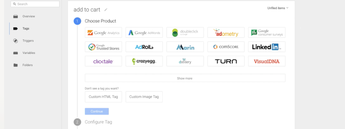 common Google Tag Manager integrations