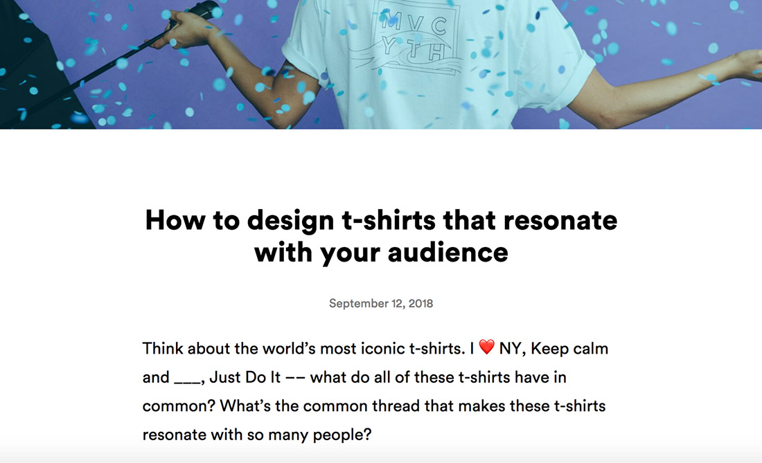 how to design t-shirts that resonate
