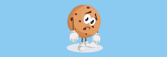 Cookie is sad hero image