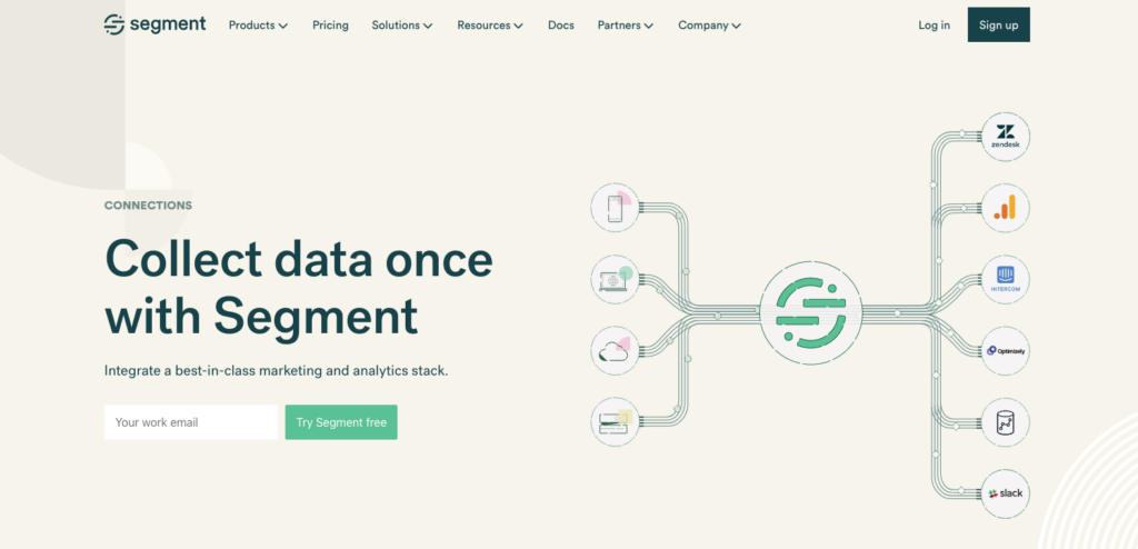 collect data for customer data platform